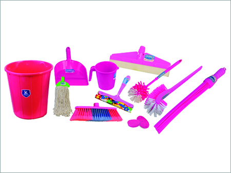 House Hold Plastic Cleaning Set