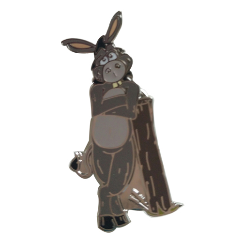 rabbit lapel pin
