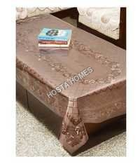 PVC Dining Table Cover Tablecloth Waterproof Protector, 6-8 Seater, 60 X 90 Inches Rectangle