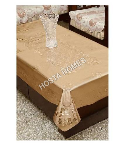 Copper Color Dining Table Cover Waterproof Floral 6 Seater 60X90 Inches( Exclusive Design)