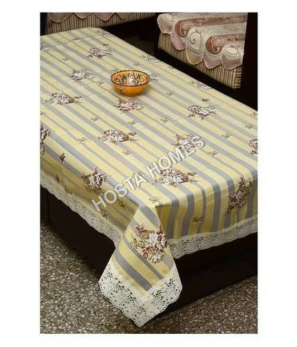 Decor Printed Dining Table Cover 6 Seater 60X90 Inch