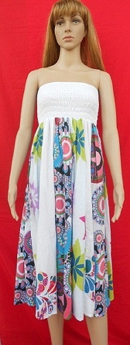 Print Women Long Skirt