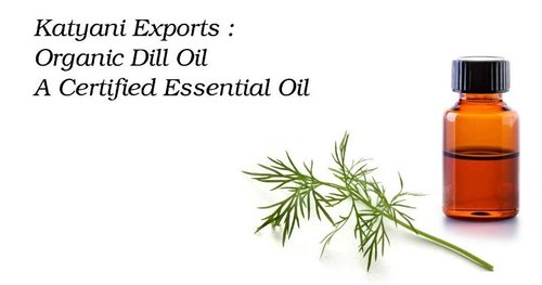 Organic Dill Oil