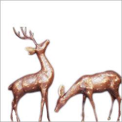 Swamp Deer Statue