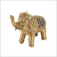 Copper Elephant Statue
