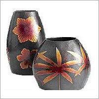 Copper Flower Vases