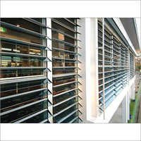 Adjustable Louvered Window