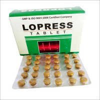 Low Blood Pressure For Lopress Tablet