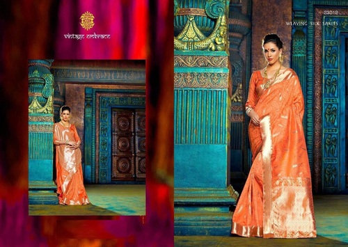 Weaving Silk Designer Sarees Dealer