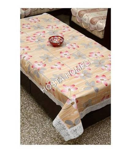 PVC Dining Table Cover 6 Seater 60*90 Inches - Multicolor(Exclusive Design)