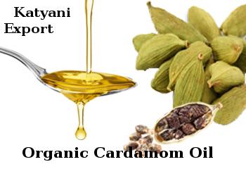 Organic Cardamom Oil