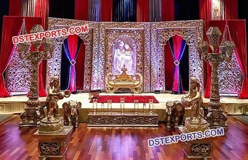 Wonderful Shadi Stage Decoration Frames