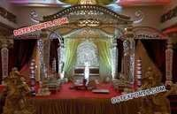 Traditional Marriage Mandap