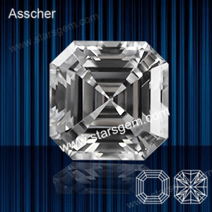 White - Asscher Cut