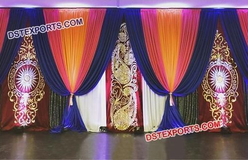 Sangeet and Mehandi Wedding Decoration Backdrop