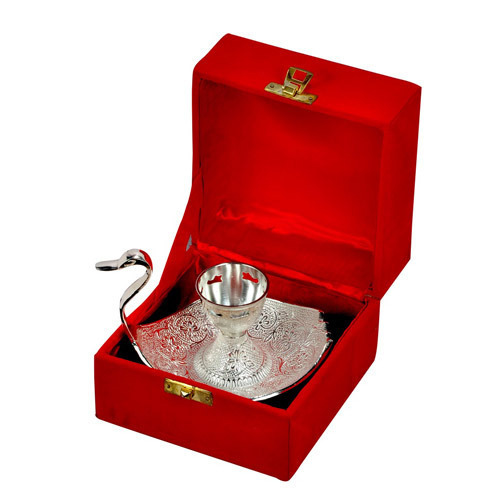 Swan Tray with Box gift set