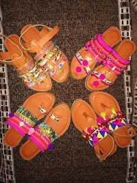 Ladies Embroiderd Sandals