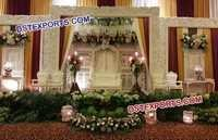 Asian Marriage Stage Backwall Frames Panels