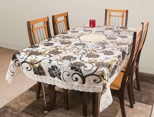 PVC Dining Table Cover 6 Seater 60*90 Inches - New Color(Exclusive Design)