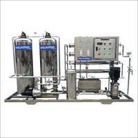 4000 LPH SS Industrial Water Plant