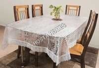 The Trendy Dining Table Cover Printed 8 Seater 90x90 inches