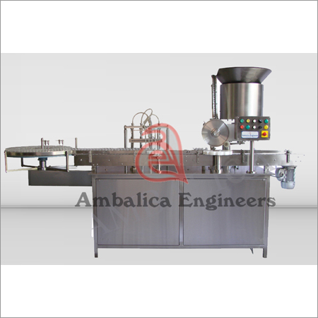Vial Filling & Stoppering Machines