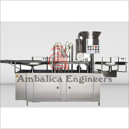 Vial Motion Filling-Stoppering Machines