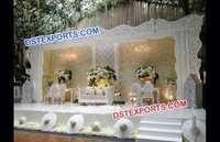 Marriage Stage Backdrop Frame Design