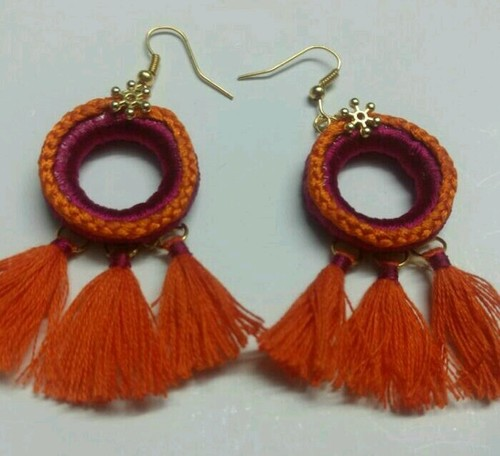 Handcrafted Tassel Earings