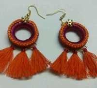 Tassel earings