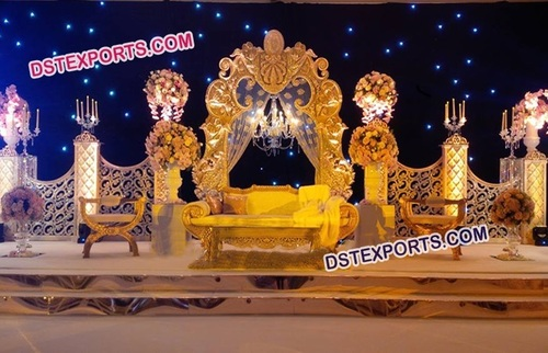 Modern Marriage Stage Decoration