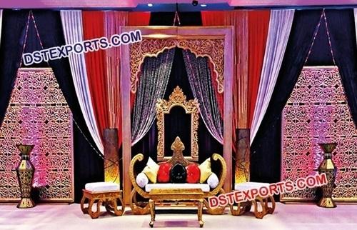Royal Carved Panel For Wedding