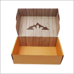 Printed Laminated Corrugated Box