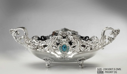 Silver Plated Fruit Bowl - Small