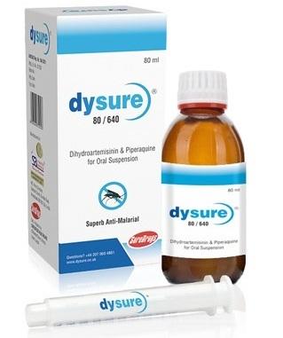 Dihydroartemisinin 80 mg, Piperaquine Phosphate 640 mg,