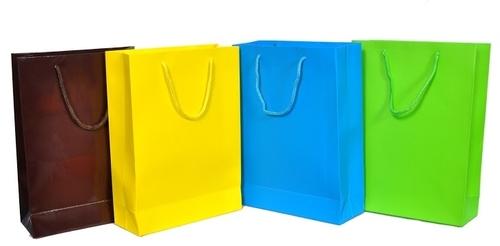 Retail Color Paper Bags