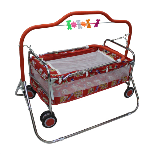 Regular Baby Jhula Baggi 6 Wheel