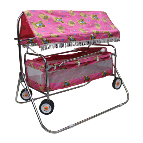 6 Wheel Deluxe Baby Jhula Baggi