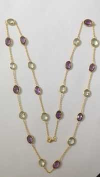 Amethyst Oval Chain