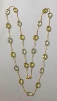 Multi Stone Oval Chain