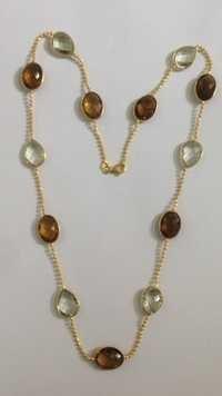 Semi Precious Stone Chain