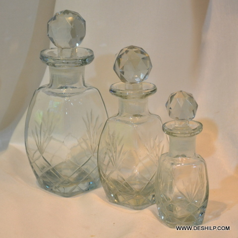 Vintage Chokor Glass Decanter