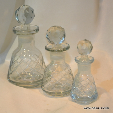 Antique Decanter With Stopper Decanter