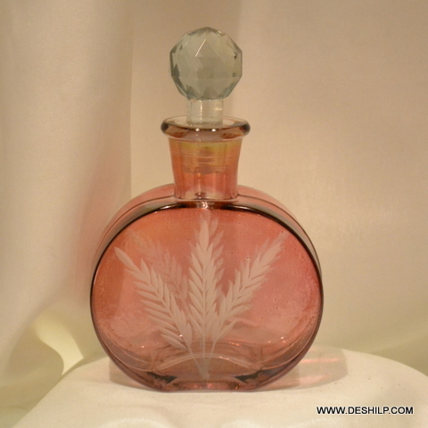 GLASS PERFUME BOTTLE AND DECANTER, REED DIFFUSER,DECORATIVE