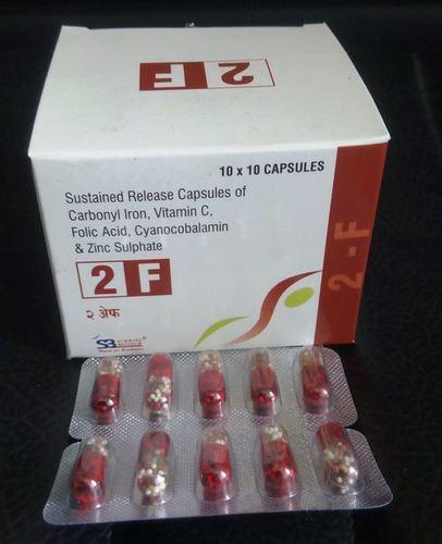 Carbonyl Iron, Zinc, Folic Acid with Vitamins Capsules
