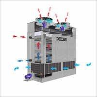 Decsa Make Cfr- A Series Axial Evaporative Condensers