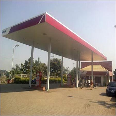 Petrol Station Canopy