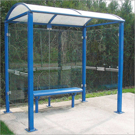 Mild Steel Bus Shelter