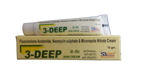 fluocinolone acetonide neomycin sulphate and miconazole nitrate cream