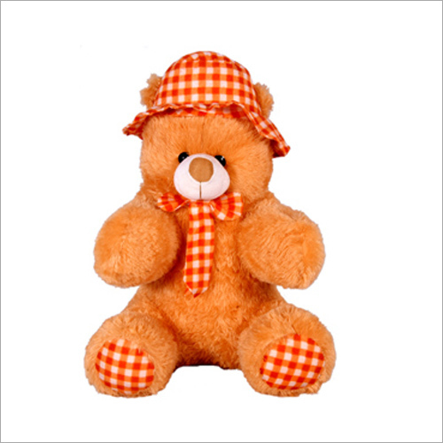 Tie And Cap Teddy Bear